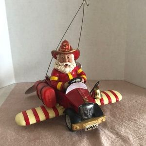 Fire fighter Santa Claus